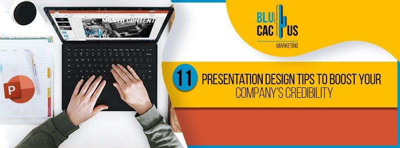 BluCactus - presentation design tips - TITLE