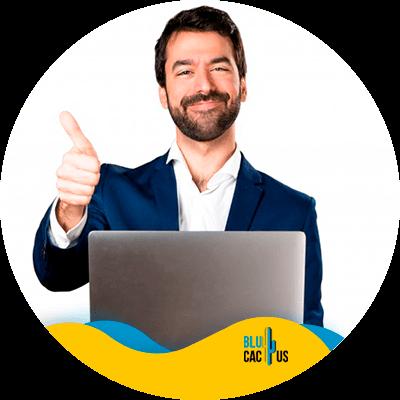 BluCactus - present a digital marketing strategy - Men Working