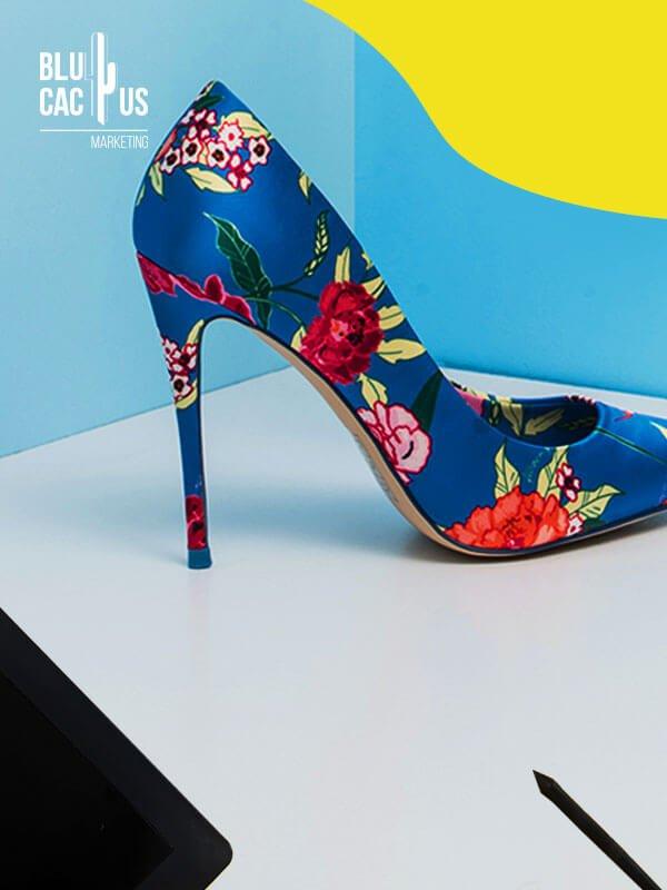 Blucactus - Footwear Marketing Agency Graphic Design