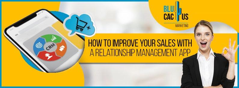 BluCactus - relationship management app - title