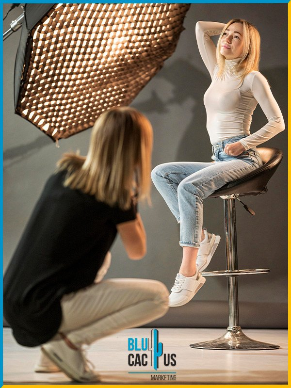 BluCactus - How to become a fashion photographer - example of a photo