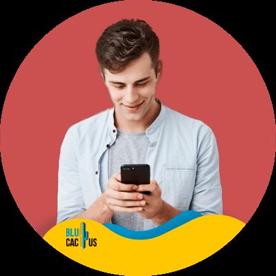 BluCactus - Pinterest marketing strategy - Happy person