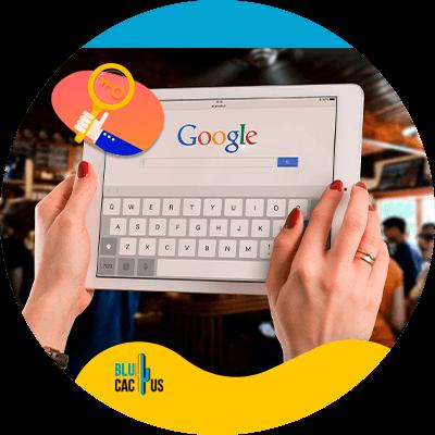 BluCactus - competitor keyword analysis for SEO - Google keyword