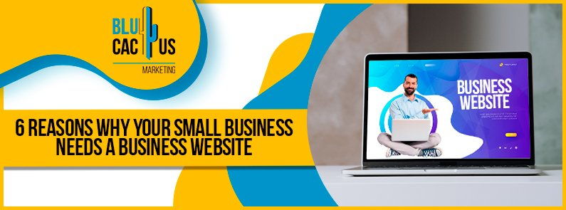 BluCactus - Business Website - title