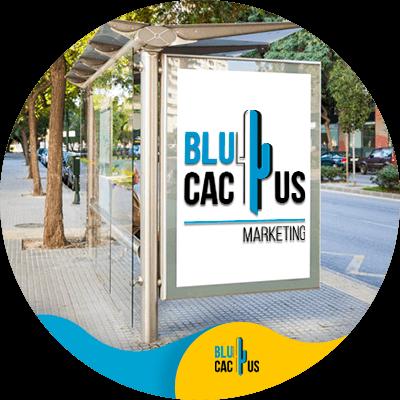 BluCactus - Bus Stop Shelter Ad - important data