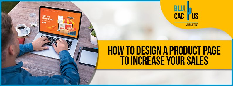 BluCactus - design a product page - title