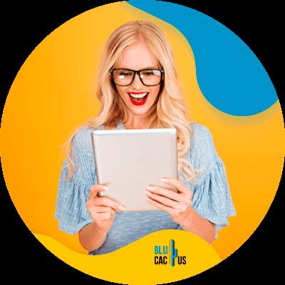 BluCactus - design a product page - important data