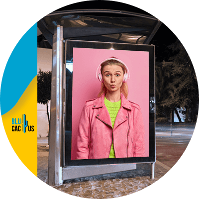 BluCactus - The Pros and Cons of using Bus Stop Shelter Ads -