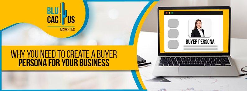 BluCactus - buyer persona - title