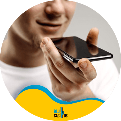 BluCactus - Focus on mobile optimization - A man speaking on the phone