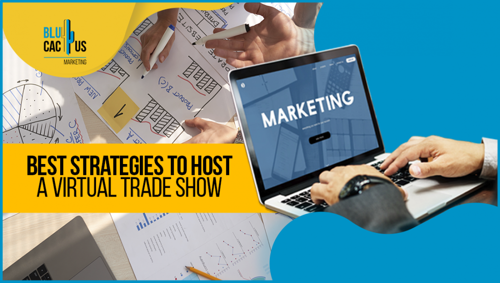 Blucactus - Best Strategies to Host a Virtual Trade Show Portada
