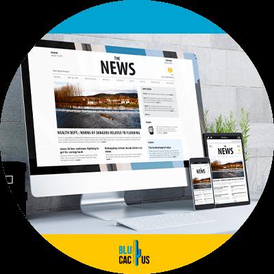 Blucactus - create a mobile responsive website