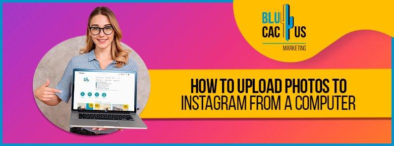 BluCactus - upload your photos on Instagram via your PC - title