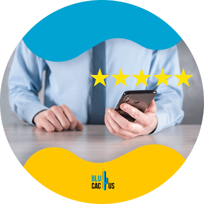 Blucactus - Use customer testimonials