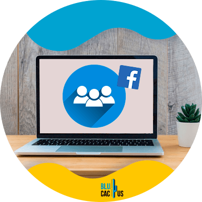 Blucactus - create a facebook group