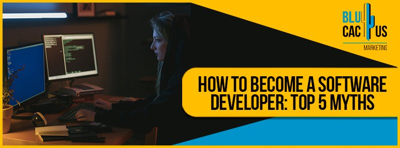Blucactus - how to become a software developer cover page