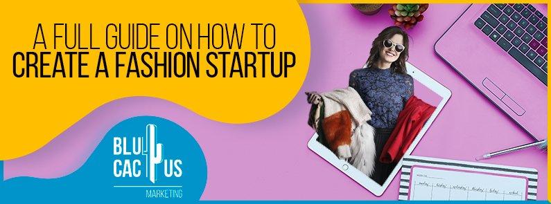 BluCactus - fashion startup - banner