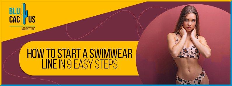 BluCactus - Swimwear line - banner