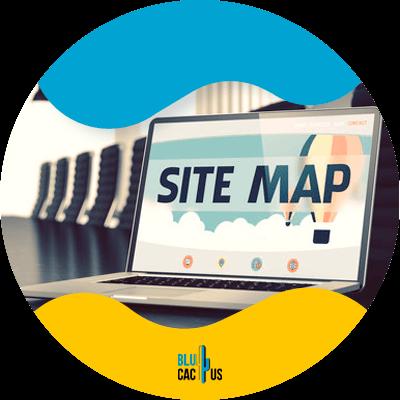 BluCactus - sitemap - important data