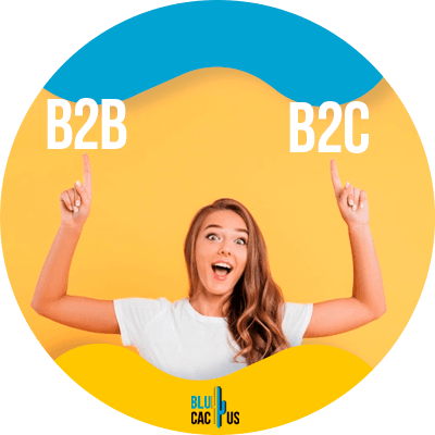Blucactus-What-is-the-difference-between-B2B-and-B2C