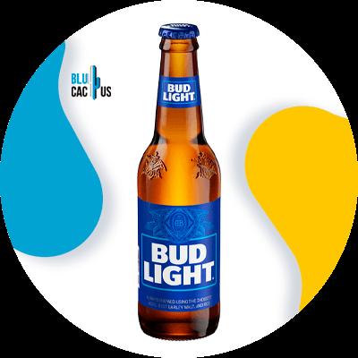 BluCactus - beer can label